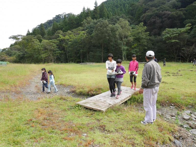 高隈 寺子屋と盆釜体験2