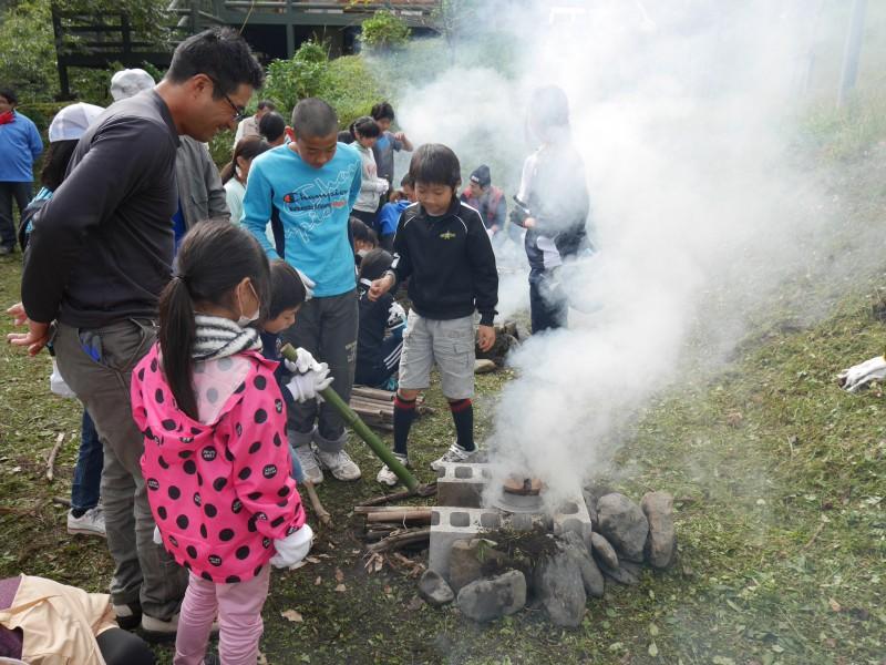 高隈 寺子屋と盆釜体験4